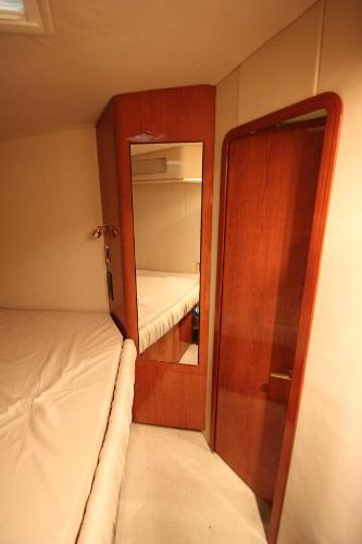 Guest Stateroom Entrance and Cedar Closet