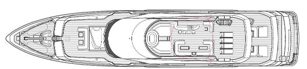 Sunseeker 155 Yacht Sky Deck Profile