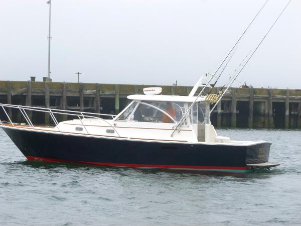 Hunt Yachts Surfhunter 33 2000 Hunt 33' hardtop express cruiser