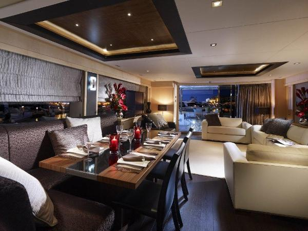 Sunseeker 88 Yacht Interior