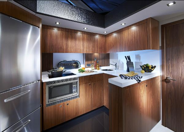 Sunseeker Mahattan 53 Galley