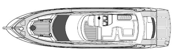 Sunseeker Manhattan 63 Flybridge Layout Plan