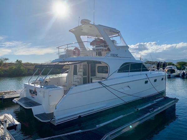 Custom Seacrest Power Catamaran
