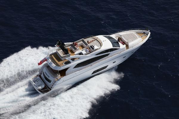 Sunseeker Manhattan 73 Aerial View