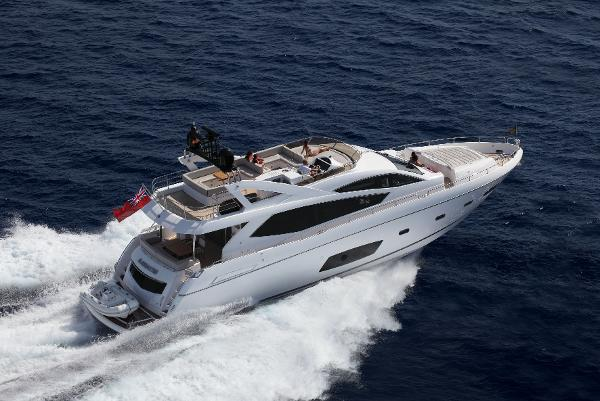 Sunseeker Manhattan 73 Running Shot