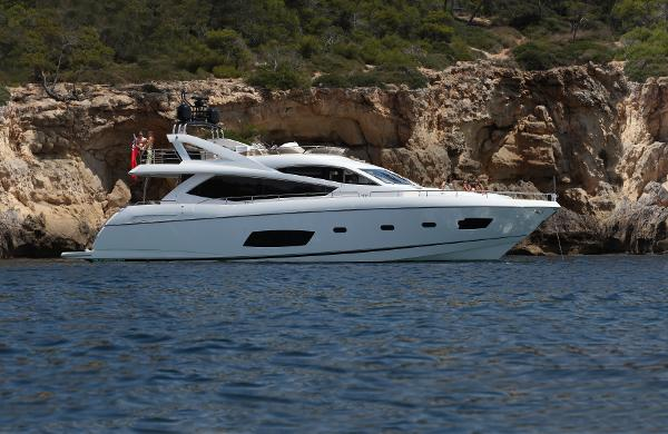 Sunseeker Manhattan 73 Side View