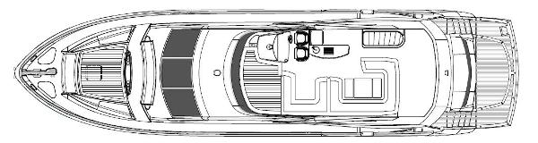 Sunseeker Manhattan 73 Flybridge Layout Plan