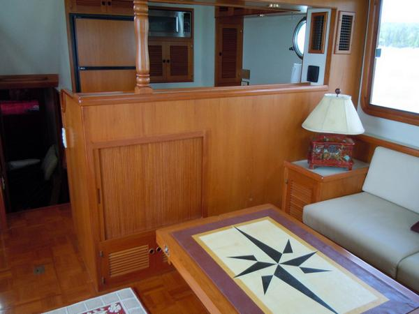 Starboard side looking toward galley