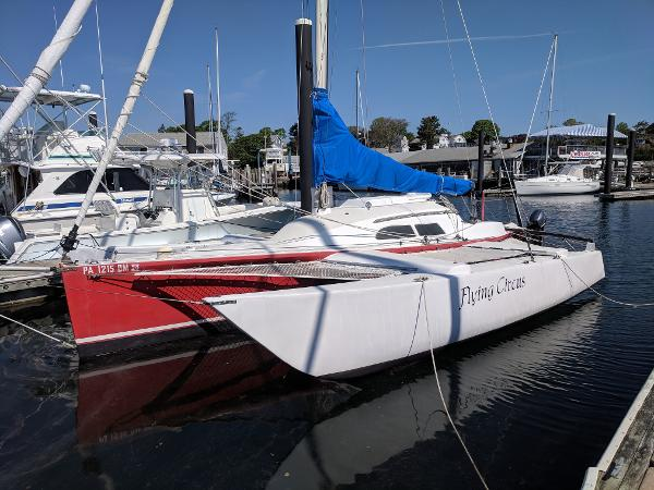 Custom Robert Harris 32 ft. Trimaran
