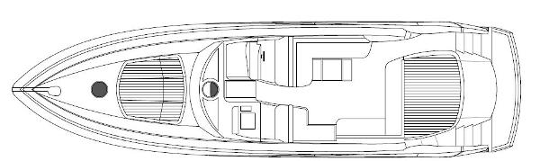 Sunseeker Predator 60 Main Deck Layout Plan