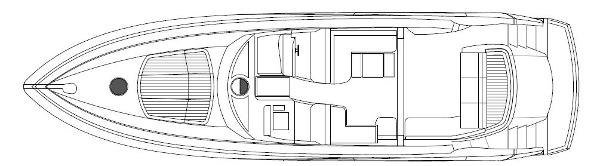 Sunseeker Predator 60 Main Deck Option Layout Plan