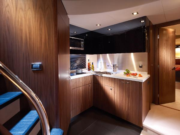 Sunseeker Predator 64 Galley