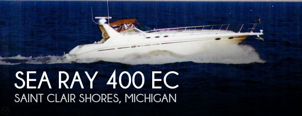 1998 Sea Ray 400 EC for sale in St Clair Shores, MI