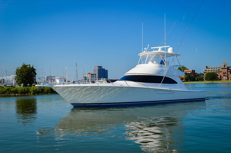 Viking 52 Convertible 52 Viking Convertible Profile