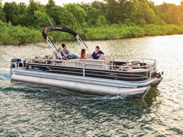 Sun Tracker FISHIN' BARGE 24 XP3 150L