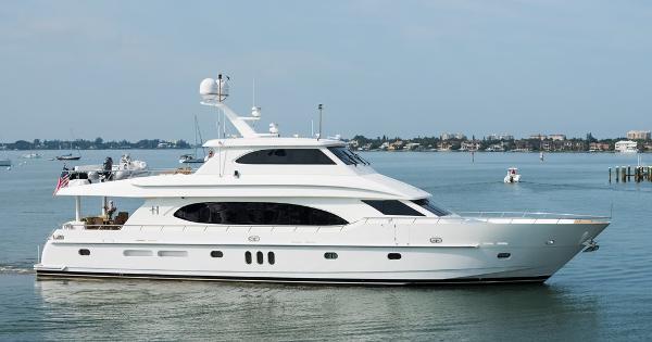 Hargrave 90' Skylounge Motor Yacht