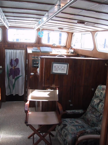 Salon looking Forward Starboard
