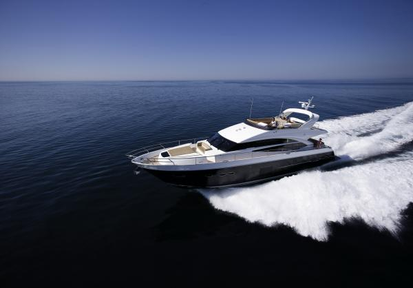 Princess 72 Motor Yacht Manufacturer Provided Image: Princess 72 Motor Yacht Running Shot