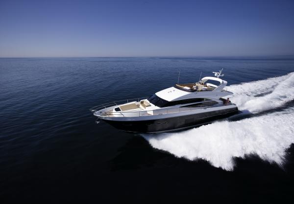 Princess 72 Motor Yacht Manufacturer Provided Image: Princess 72 Motor Yacht Running Shot