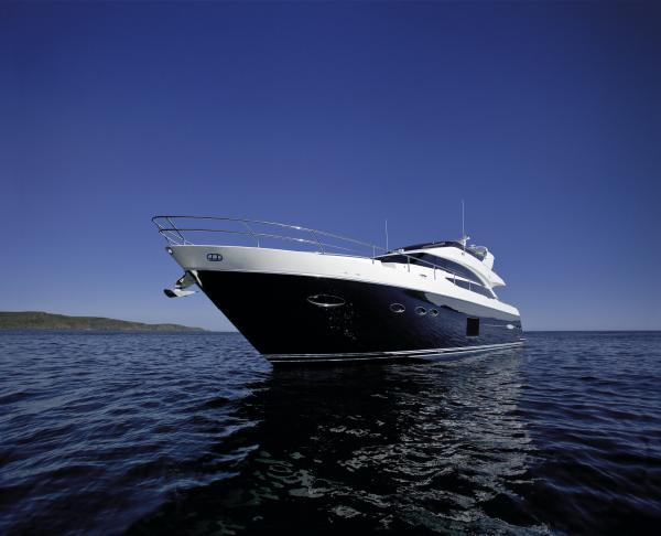 Princess 72 Motor Yacht Manufacturer Provided Image: Princess 72 Motor Yacht Hull