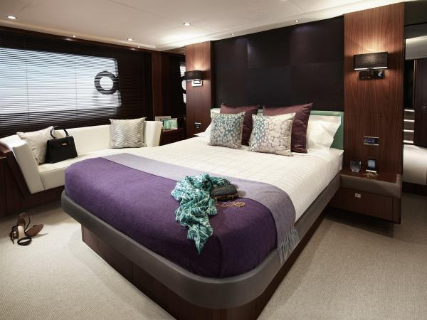 Princess Flybridge 72 Motor Yacht Owner's Stateroom