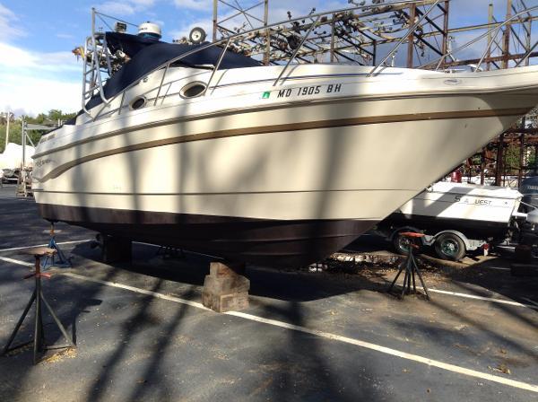 Monterey 270 Cr Starboard View