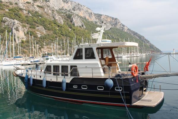 Custom Built Steel Trawler