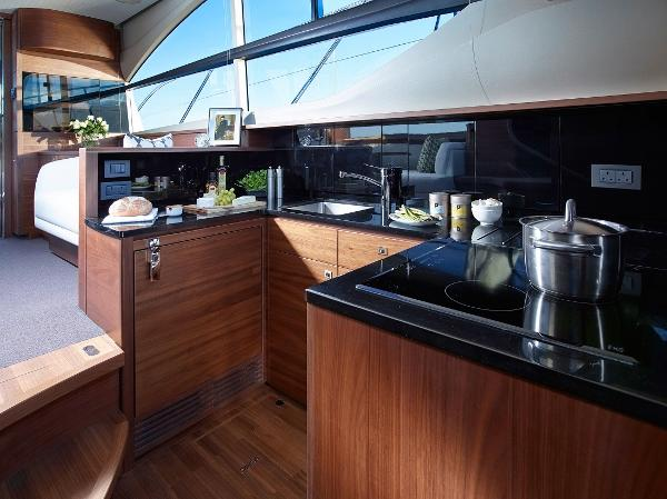 Princess Flybridge 43 Motor Yacht Galley