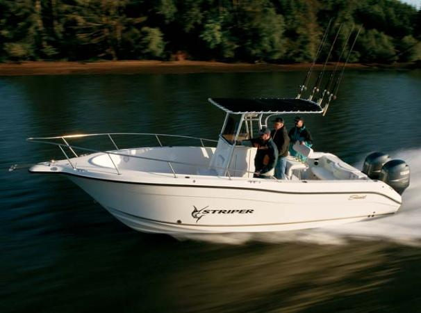 Seaswirl Striper 2601 Center Console O/B Manufacturer Provided Image: Striper 2601 CC