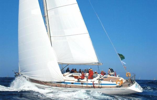 Nautor 55-104 Rita under sail