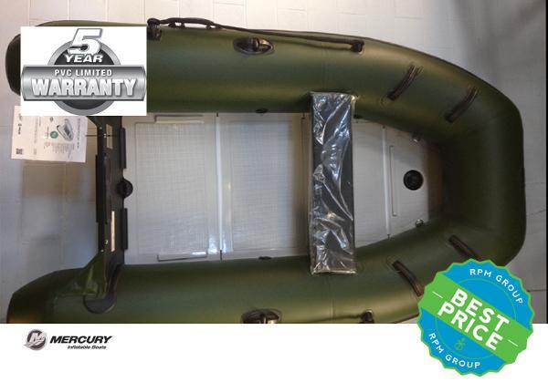 Mercury Inflatables 250 Sport PVC - Green -