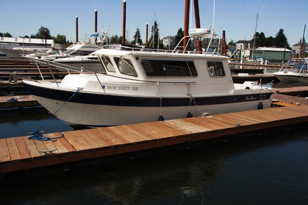 Sea Sport 27 Navigator Profile Port