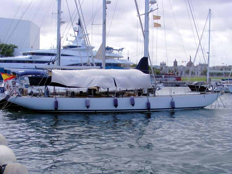 12 METRE America's Cup Yacht