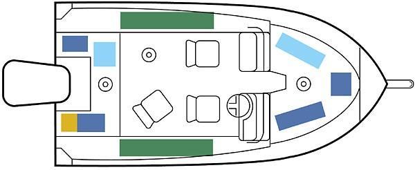 170 LE - deck plan