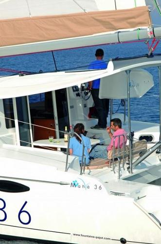 Fountaine Pajot Mahe 36 Evolution Cockpit