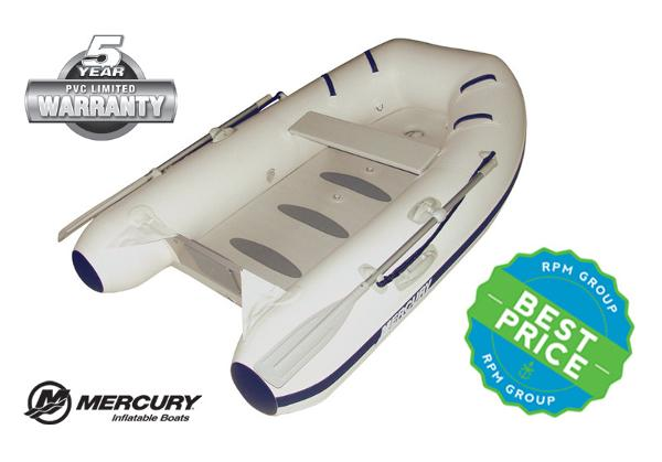 Mercury Inflatables 250 Air Deck PVC