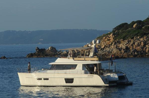 Fountaine Pajot Queensland 55 Side View