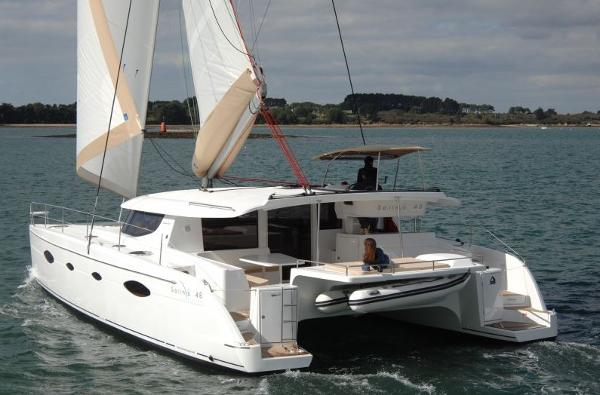Fountaine Pajot Salina 48 Evolution Stern