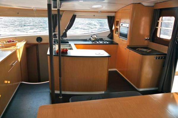 Fountaine Pajot Salina 48 Evolution Galley