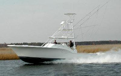 Out Island 38 Express Fisherman Manufacturer Provided Image