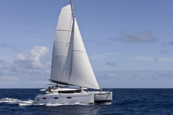 Fountaine Pajot Sanya 57 Side View