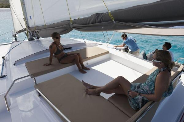 Fountaine Pajot Sanya 57 Cockpit Seating