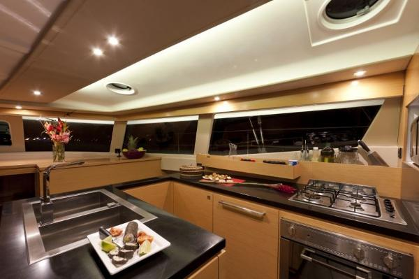 Fountaine Pajot Sanya 57 Galley