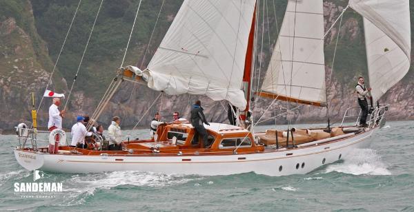 Laurent Giles 60 ft Bermudan Cutter