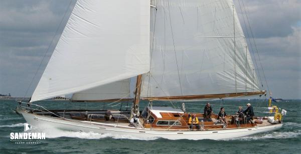Laurent Giles 60 ft Bermudan Cutter