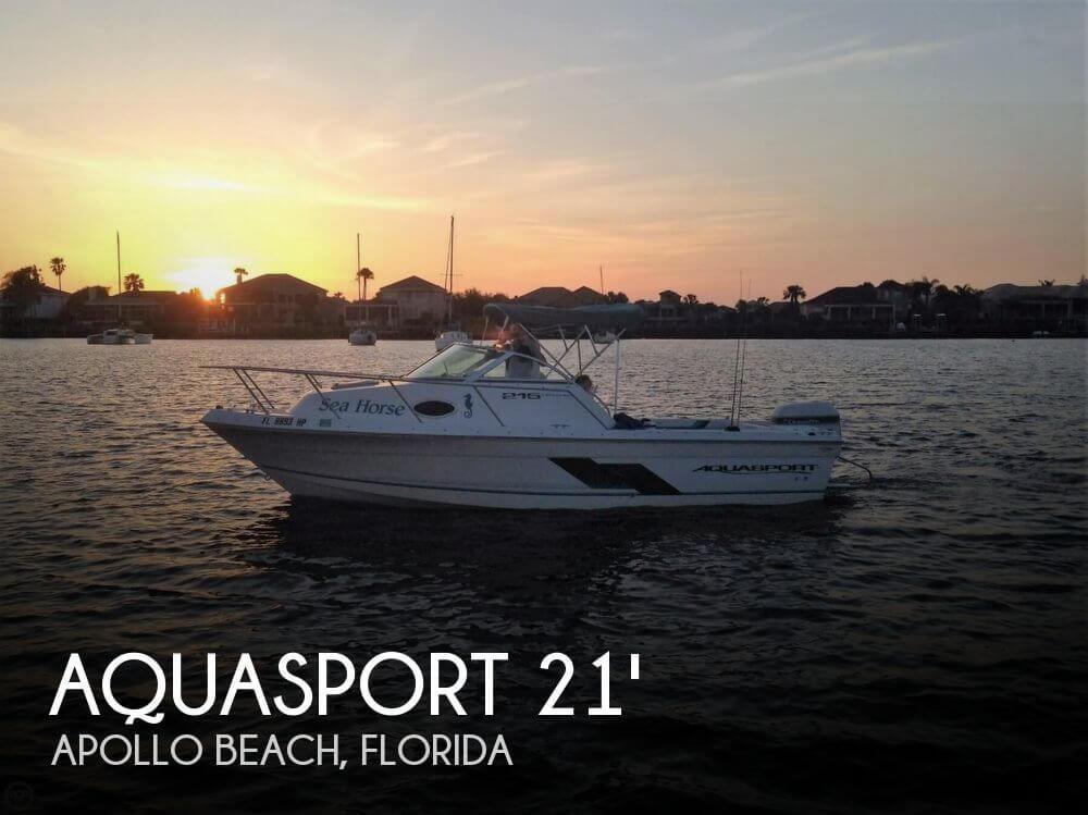 Aquasport 215 Explorer 1998 Aquasport 215 Explorer for sale in Apollo Beach, FL