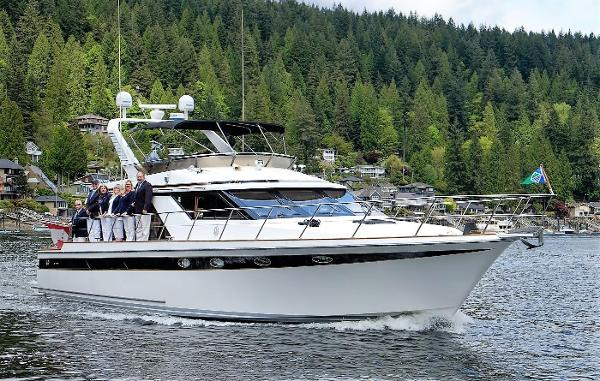 Ocean Alexander Raised Pilot House Sedan Opening Day