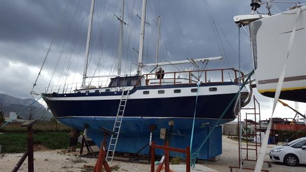 Custom Two Mast Schooner