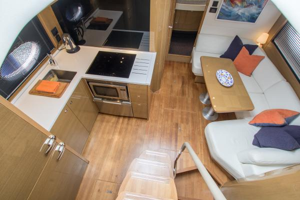 Princess V48 Open Saloon & Galley
