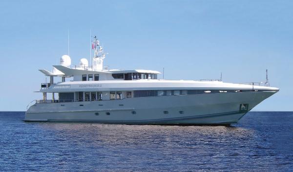 Oceanfast Tri Deck Motor Yacht